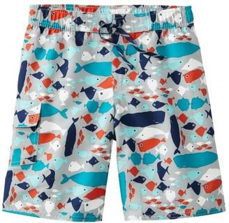 L.L. Bean L.L.Bean Boys' BeanSport Swim Shorts, Print