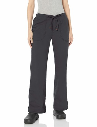 Code Happy Women's Bliss Mid-Rise Drawstring Pant with Certainty and Fluid Barrier