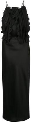 Jason Wu Collection Ruffled Front Dress