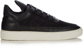 Filling Pieces Low-top leather and mesh trainers