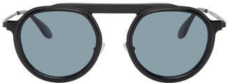 Thierry Lasry Black Ghosty Sunglasses