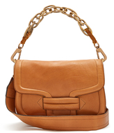 Pierre Hardy Alphaville grained-leather shoulder bag