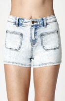 Billabong That 70s Memory High Rise Denim Shorts