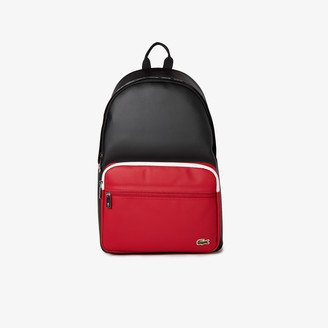 Lacoste Mens Colorblock Backpack
