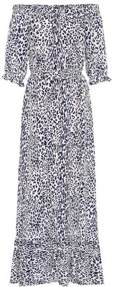 Baum und Pferdgarten Exclusive to Mytheresa Abril leopard-print midi dress