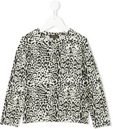 Roberto Cavalli leopard print sweatshirt - kids - Cotton/Spandex/Elastane/Modal - 3 yrs