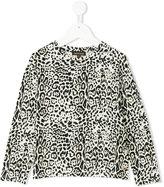 Roberto Cavalli leopard print sweatshirt - kids - Cotton/Spandex/Elastane/Modal - 4 yrs