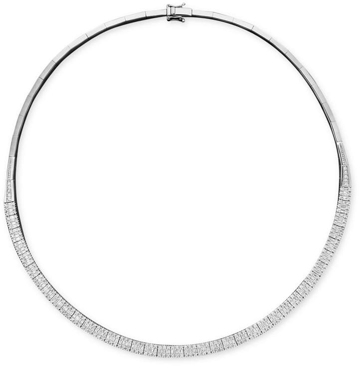 Effy Classique by Diamond Diamond Necklace (4-1/6 ct. t.w.) in 14k White Gold