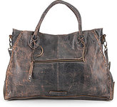 Bed Stu Rockaway Stitch-Detail Satchel