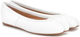 Maison Margiela Tabi leather ballet flats