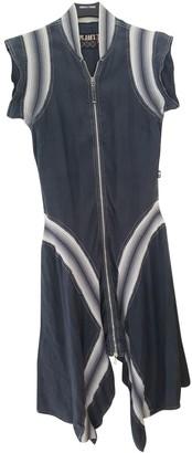 Jean Paul Gaultier Blue Cotton Dress for Women Vintage