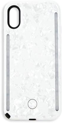 LuMee Metallic Marble Duo iPhone XS & iPhone X Case