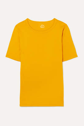 J.Crew Perfect Fit Cotton-jersey T-shirt - Yellow