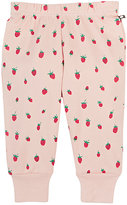 Oeuf Strawberry-Print Organic Cotton Leggings