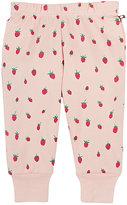 Oeuf Strawberry-Print Organic Cotton Leggings