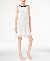 Alfani Petite Lace Bow-Back Shift Dress, Created for Macy's