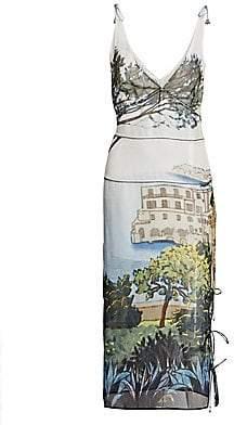 Altuzarra Women's Silk Tuscany Print Dress