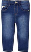 River Island Mini boys bright blue Sid skinny jeans