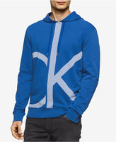 Calvin Klein Jeans Men's Enlarged Logo Graphic-Print Hoodie