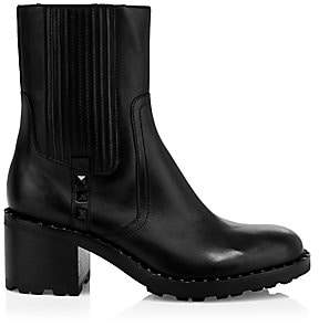 Ash Women's XOX Studded Leather Ankle Boots