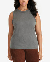 Lauren Ralph Lauren Plus Size Beaded Top