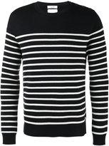 Valentino striped jumper - men - Virgin Wool - S