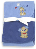 Bed Bath & Beyond Just Born 2-Pack Thermal Receiving Blankets - Blue