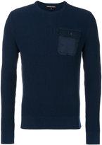 Michael Kors textured pocket detail sweater