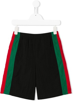 Gucci Kids Stripe-Detailed Shorts