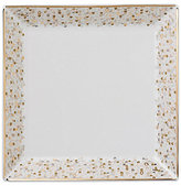 Nikko Spangles Shimmering Bone China Square Salad Plate