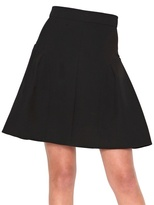 Fendi Heavy Cady Skater Skirt