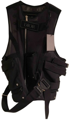 Christian Dior Black Polyester Jackets