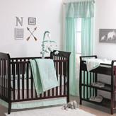 The Peanut Shell Modern Tribe 7 Piece Crib Bedding Set