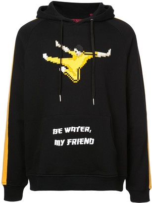 Mostly Heard Rarely Seen 8-Bit Be Water My Friend hoodie