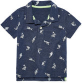 Arizona Polo Short Sleeve Pattern Polo Shirt - Baby Boys