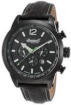 Ingersoll 3220BBK Men's Ltd Ed Taos Auto Multi-Function Black Genuine Leather