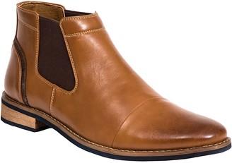 Deer Stags Men's Memory Foam Cap-Toe Chelsea Boots - Argos