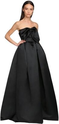 Rochas Washed Corset Duchesse Puff Dress