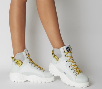 Buffalo David Bitton Giselle Sneaker Boots White