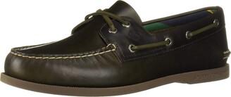 Sperry Mens A/O 2-Eye Plush Varsity Boat Shoe