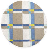 Joanna Buchanan Beaded Blue Plaid Placemat