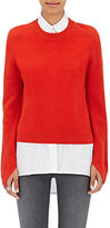 Rag & Bone Women's Valentina Cashmere Crop Sweater-RED