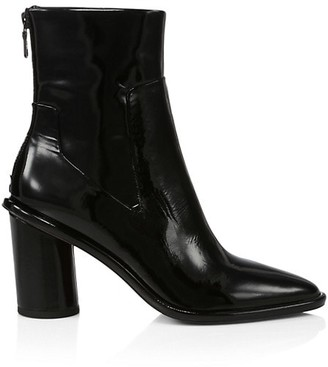 Rag & Bone Wiley Patent Leather Ankle Boots