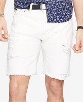 Denim & Supply Ralph Lauren Men's Straight-Fit Ripped Shorts