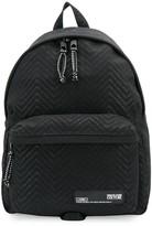 Versace zig-zag monogram backpack