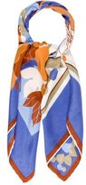 Lanvin Floral Printed Silk Scarf