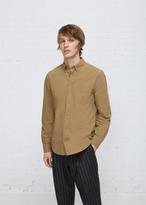Acne Studios acorn green isherwood light shirt