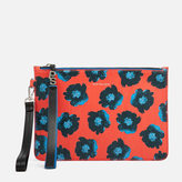 Paul Smith Women's Sea Aster Clutch Bag Red Multi