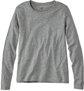 L.L. Bean L.L.Bean Women's Signature Essential Knit Tee, Long-Sleeve