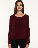 Le Château Wool Blend Crop Sweater